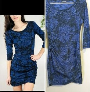 Express bodycon half sleeve dress